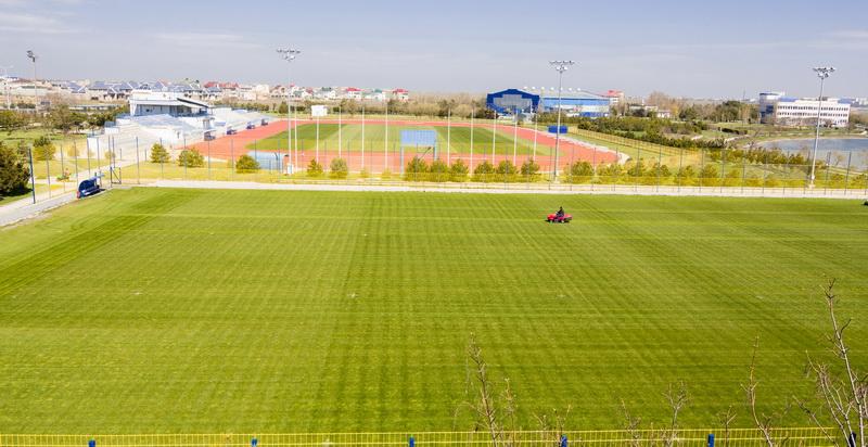 В Заозерном отличные условия для проведения спортивных сборов в Крыму
